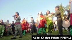 فعالية راقصة بمناسة يوم محافظة دهوك