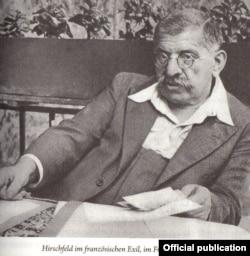 Magnus Hirschfeld (1869-1935) în Franța