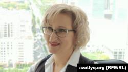 Советник президента Объединенной Ассоциации риэлторов Казахстана Нина Лукьяненко.