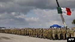 Италијански војници дел од мировниците на ОН во Либан.