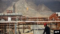 Газовое месторождение «Южный Парс» в Иране, январь 2014 г․