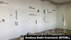 Grupa mladića upala je 13. oktobra u večernjim satima na izložbu strip crteža u Galeriju Stara Kapetanija u Zemunu i pocepala radove