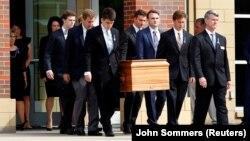 Похорон Отто Вормбієра, який помер після ув'язнення в Північній Кореї, штат Огайо, США, червень 2017 року