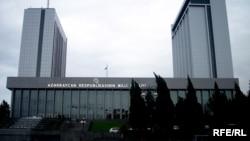 Milli Məclisin binası.