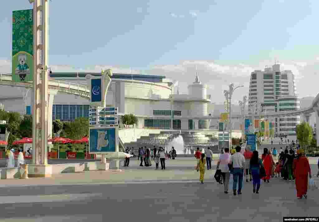 Olimpiýa toplumy, Aşgabat, 26-njy sentýabr, 2017 ý.