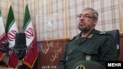 Morteza Mirian, an IRGC commander