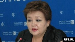 Бақытжамал Бектұрғанова, Саяси шешімдер институтының бас директоры. 23 шілде 2009 жыл.