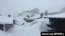 Непогода идет на Крым