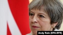 Премьер-министр Великобритании Тереза Мэй (архив)