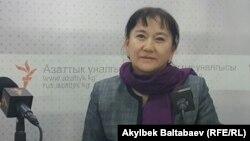 Айнуру Алтыбаева.