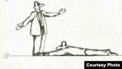 Karikatura (Rəşid Şerif).