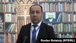 Руководитель казахского общества в Австрии Байтурсын Шолпан. Астана, 29 октября 2015 года.