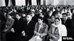 Azərbaycan SSR Ali Sovetinin iclası. 1956