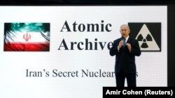 نخستوزیر اسرائیل شامگاه دوشنبه گفت که نهادهای اطلاعاتی کشورش به اصل آرشیو برنامه هستهای محرمانه ایران دسترسی یافتهاند.