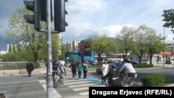Ulice Sarajeva nakon ukidanja mjera zabrane kretanja
