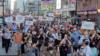 تظاهرات در تورنتو کانادا برای دادخواهی در مورد ساقط کردن هواپیمای مسافربری توسط سپاه پاسداران. عکس از آرشیو