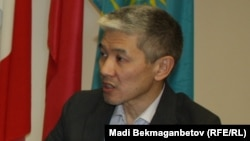 Ауыл-шаруашылығы министрінің бұрынғы орынбасары Марат Толыбаев.