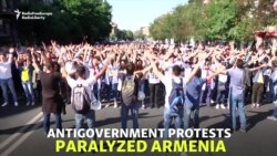Armenia Paralyzed By Opposition Blockades