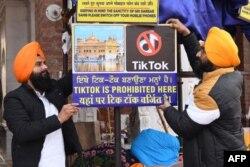 TikTok Hindistanda gadagan edildi.
