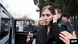 Надежда Толоконикова, Сочи 18.02.2014.