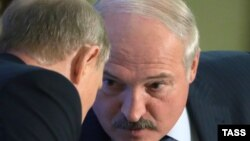 Lukashenka dhe Putin - foto arkivi