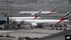 В аэропорту Дубая. Архивное фото.