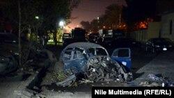 بعد احدى التفجيرات في القاهرة