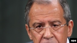 Lavrov said only a complete overhaul of missile-defense plans would satisfy Russia