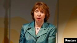 Шефицата на европската дипломатија Кетрин Ештон