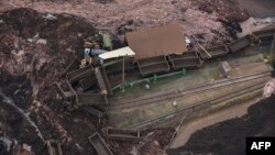 Mine dam in Brazil bursts