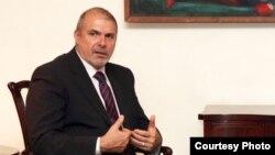 Специальный представитель ЕС на Южном Кавказе и по конфликту в Грузии Филипп Лефорт. фото: www.mediamax.am