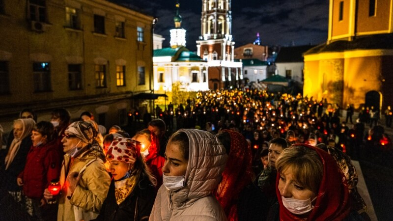 Orthodox Christians Mark Second Easter Holiday Under Pandemic Restrictions