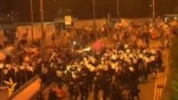 Столкновения в Гонконге