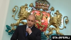 Претседателот на Бугарија Румен Радев