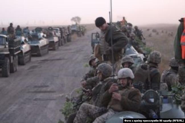 Військовослужбовці 80-ої бригади