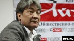 "Руководитель дискуссионного клуба ""АйтПарк"" Нурлан Еримбетов."