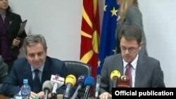Македонија ќе ја продлабочува соработката со ЕИБ. Од средбата меѓу потпретседателот на ЕИБ Сканапиеко и министерот за финансии Ставревски