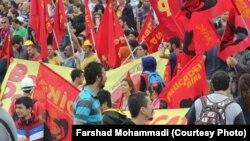 محتجون أتراك في ميدان تقسيم بأسطنبول