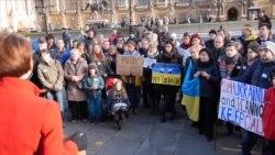 Українці у Лондоні долучилися до європейського майдану