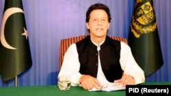 Pakistani Prime Minister Imran Khan has assailed India's decision to cancel planned talks for this week.