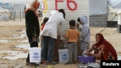 Сириялык качкындар