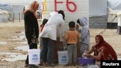 Izbjeglice iz Sirije u Jordanu