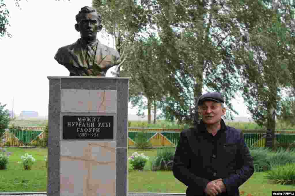 Гафуриның туганы, тарихчы һәм эшмәкәр Илдар Вәлиев. Туган авылында бәйрәмне оештыручыларның берсе