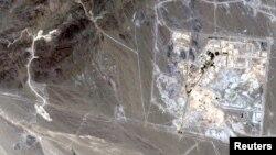 Pamje satelitore e uzinës Natanz n Iran.