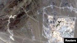 Pamje satelitore e fabrikes për pasurimin e uraniumit, Narantz, Iran