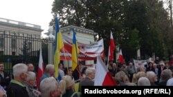 Акція до 75-річчя радянської агресії проти Польщі, Варшава, 17 вересня 2014 року