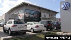 Салон Volkswagen у Сімферополі