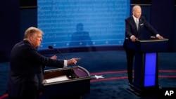 Prima dezbatere prezidențială Trump vs Biden în vederea alegerilor din 3 noiembrie, Cleveland, Ohio, 30 septembrie 2020