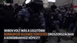 """""""Puccskísérletnek akarják beállítani az eseményeket"""" - orosz tüntetések"""