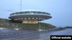 """В этом """"космическом"""" здании расположен Центр по управлению чрезвычайными ситуациями, проще – служба """"112"""""""